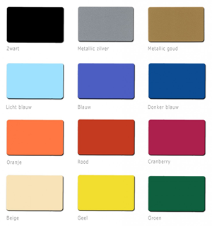 Gekleurde kaarten