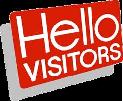 Hello Visitors card